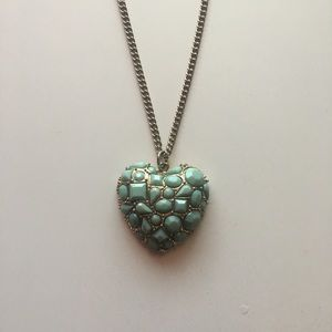 FREE Forever 21 Heart Pendant Necklace